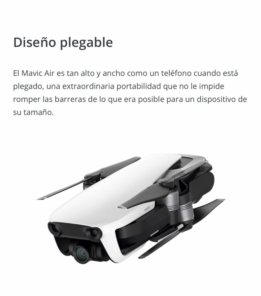 Drone DJI Mavic Air 10