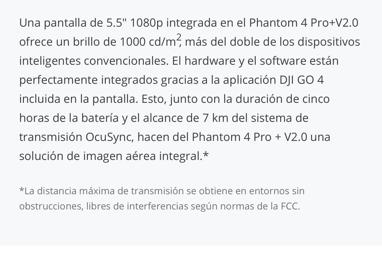 Drone DJI Phantom 4 Pro V2.0 (Normal y Plus) 11