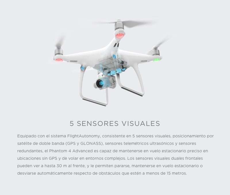 Drone DJI Phantom 4 Avanced 17