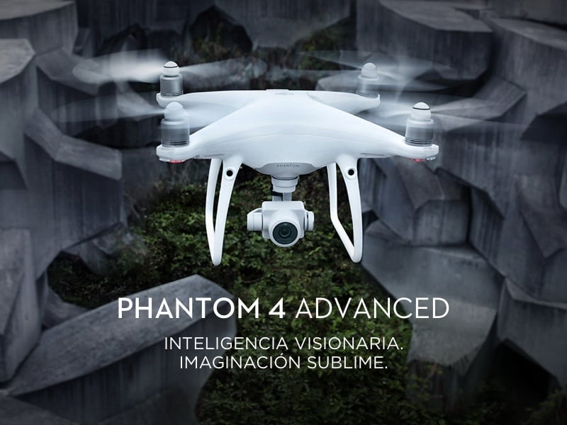 Drone DJI Phantom 4 Avanced 7