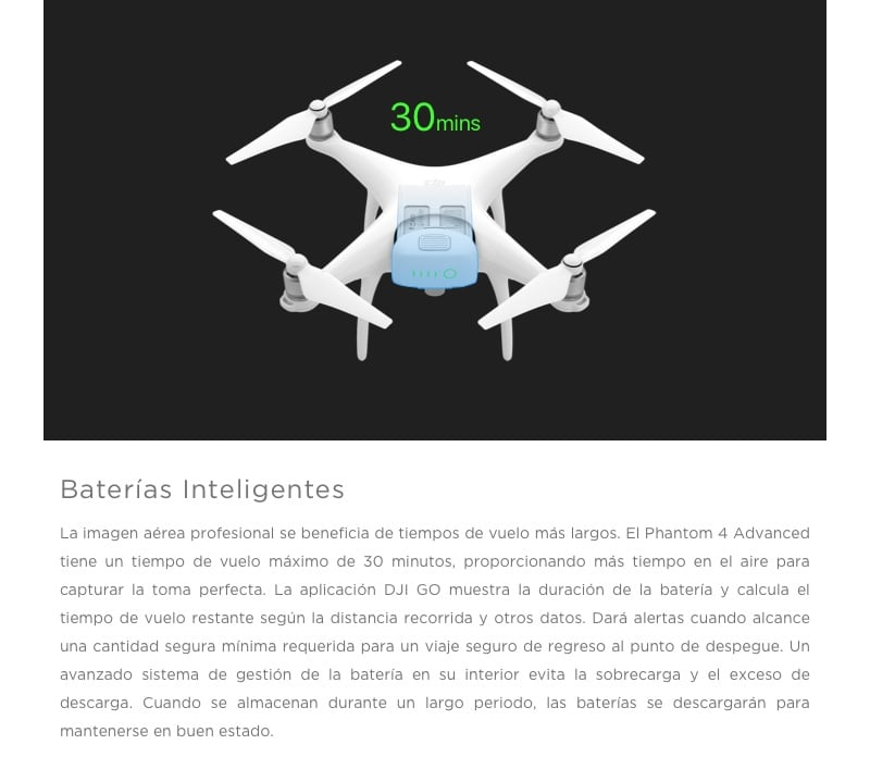 Drone DJI Phantom 4 Avanced 15